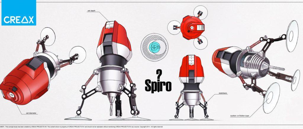 concept generation - spiro drill