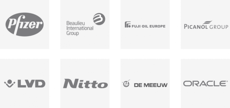 Innovation roundtable - innovation workshop with pfizer, beaulieu, fuji, picanol, lvd, nitto, de meeuw and oracle