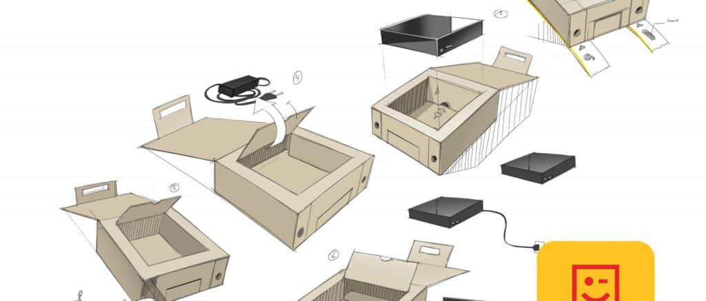 innovative packaging for telenet moodboard