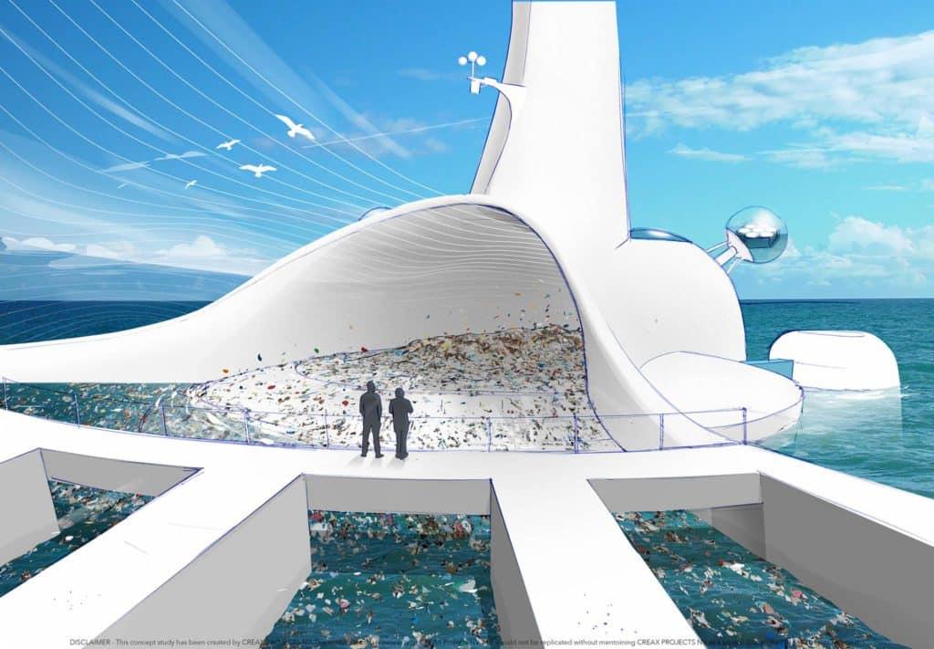 Product innovation - compîle sea filter artificial beach