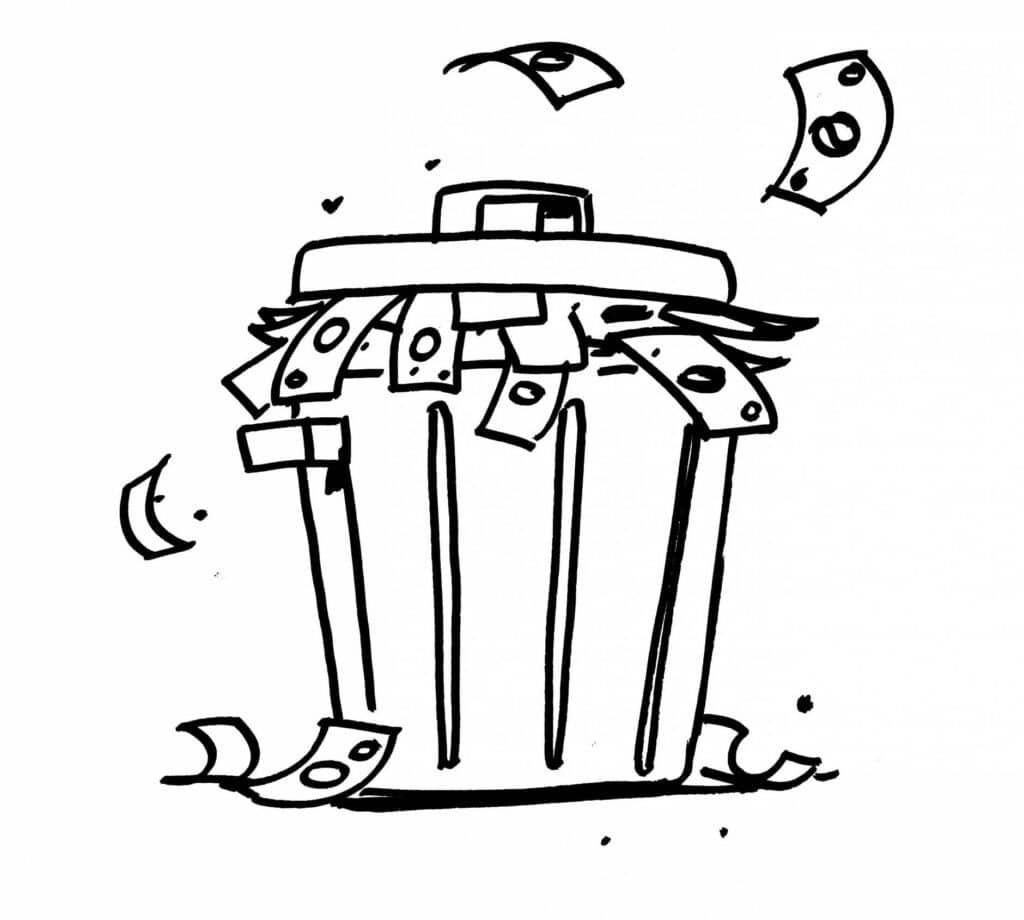 CRT - plastic soup - waste is money