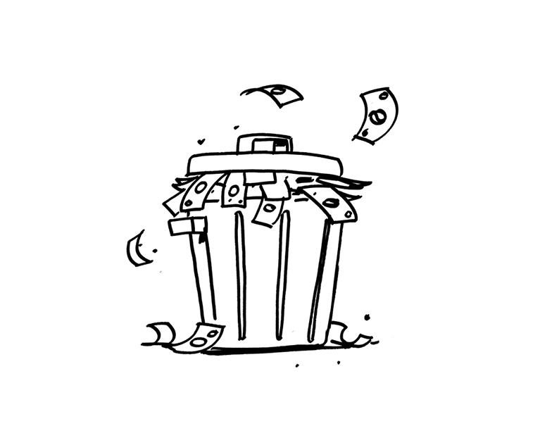 Waste is money - innovation fact 14 - creax