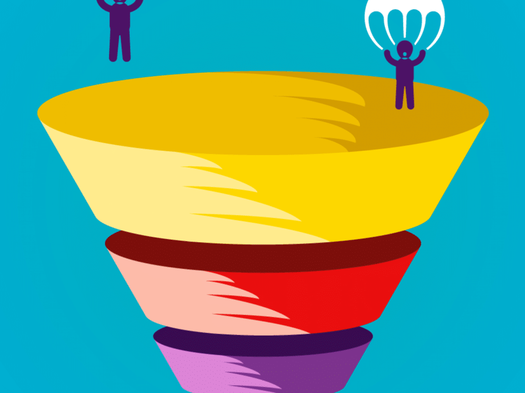 Open innovation funnel