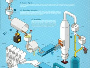 Tech mapping Creax for Paper Pulp industry