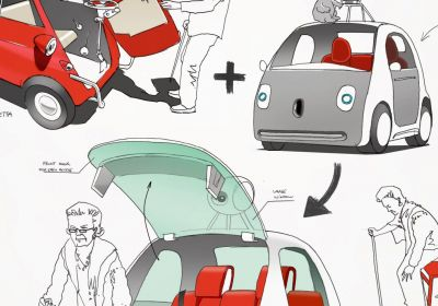 inspiration for creativity - google car